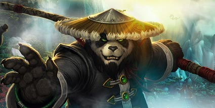 World of Warcraft: Abo-Rückgang lässt Blizzard-Umsatz sinken. Viertes World of Warcraft-Add-on Mists of Pandaria (Quelle: Blizzard)