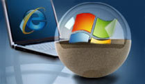 Windows: Programme und Browser ohne Risiko starten . Freeware-Tool verschanzt Windows hinter Panzerglas (Quelle: t-online.de)