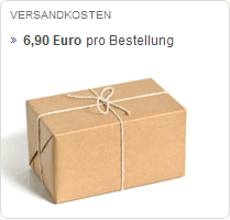 Versandkosten: Keine Staffelpreise. Unabhngig vom Bestellwert betragen die Versandkosten gnstige 6,90 Euro. (Quelle: ophirum.de)