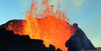 Was passiert, wenn ein Mensch in Lava fllt? (Quelle: Thinkstock by Getty-Images)