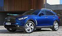Infiniti FX Facelift (Quelle: Hersteller)