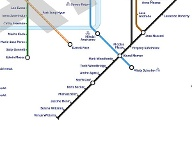 Die Tube Map in London während Olympia 2012.  (Quelle: t-online.de)