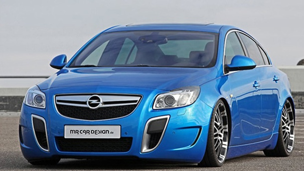 Opel Insignia OPCT: MR Car Design pusht Insignia auf 375 PS. Der Opel Insignia OPC von MR Car Design (Quelle: Hersteller)