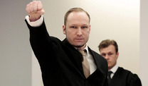 Breivik brstet sich mit seinen Taten (Foto: Reuters)