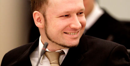 Selbstzufriedener Massenmrder: Anders Behring Breivik (Quelle: dapd)