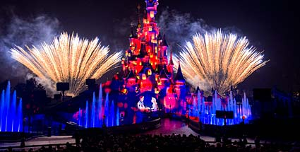 Die neue Show Disney-Dreams im Disneyland Paris. (Quelle: PR\Disney)