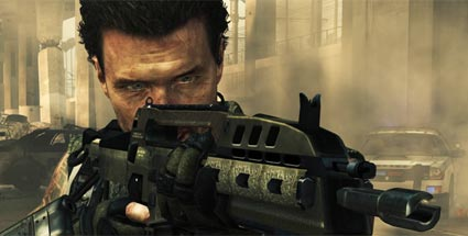 First-Look Call of Duty: Black Ops 2 - Die Action von morgen. Call of Duty: Black Ops 2 (Quelle: Activision)