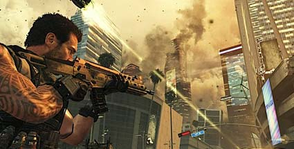 "Black Ops 2 laut Activision-CEO ""Ambitioniertester Teil der Reihe"". Call of Duty: Black Ops 2 (Quelle: Activision)"