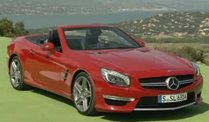 Der neue Mercedes Benz SL 63 AMG (Screenshot: Car News)