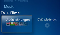 Fehlt in Windows 8: Das Windows Media Center (Quelle: Microsoft)