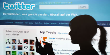 Hacker knacken 55.000 Twitter-Konten. (Quelle: dpa)