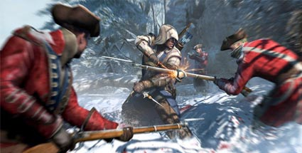 Assassin's Creed: Ubisoft forciert Kinofilm mit Michael Fassbender . Assassin's Creed 3 (Quelle: Ubisoft)