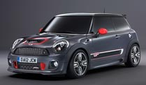 Mini John Cooper Works GP II: Raketenstart. Mini John Cooper Works (Quelle: Hersteller)