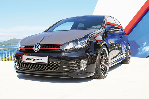 VW Golf GTI Black Dynamic (Quelle: Hersteller)