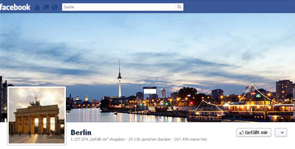 Berlin darf wohl bald nicht mehr Berlin heien  zumindest bei Facebook. (Quelle: t-online.de)