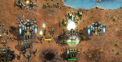 "Tiberium Alliances: EA startet ""Command & Conquer""-Browserspiel. Command & Conquer: Tiberium Alliances (Quelle: Electronic Arts)"