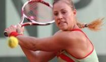 Kerber bei den French Open im Achtelfinale. Angelique Kerber steht bei den French Open in Paris im Achtelfinale.