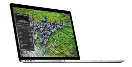 MacBook Pro mit Retina-Display. (Quelle: dpa)