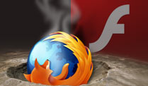 Neues Flash 11.3 lsst Firefox abstrzen (Quelle: t-online.de)