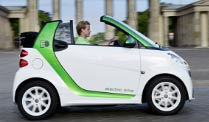 Smart Fortwo electric drive: Umweltfreundlich und kraftvoll. Smart electric drive - umweltbewusster Stadtflitzer  (Quelle: Mid)