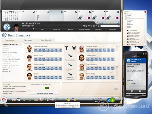Fußball Manager 13 (Quelle: Electronic Arts)