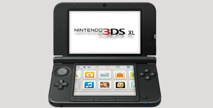 Nintendo 3DS XL: Top in Japan, Flop in England. Nintendo 3DS XL (Quelle: Nintendo)