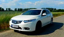 Honda Accord Tourer Autotest: Unterwegs mit dem 150-PS-Diesel. Honda Accord Tourer (Quelle: t-online.de)