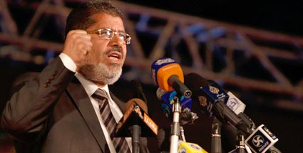 Neuer Prsident in gypten: Mohammed Mursi (Quelle: dapd)