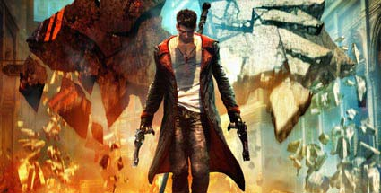 First Look auf das Actionspiel DmC - Devil May Cry von Capcom für PC, PS3 und Xbox 360. DmC - Devil May Cry (Quelle: Capcom)