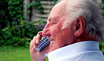 Parkinson ist am Telefon erkennbar.  (Quelle: Thinkstock by Getty-Images)