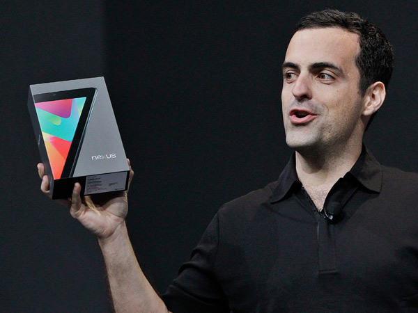 Google-Tablet Nexus 7 (Quelle: AP/dpa)
