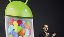 Google Android 4.1 Jelly Bean löst die Eiswaffel ab. Schneller und schlauer: Jelly Bean löst Android 4.0 ab (Quelle: dpa)