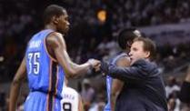 Oklahoma City Thunder verlängern mit Coach Brooks. Scott Brooks bleibt Coach der Oklahoma City Thunder.