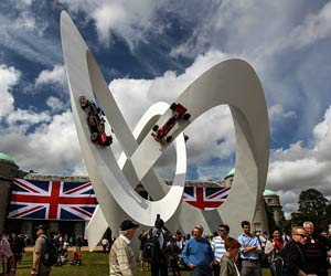 "Goodwood - Festival of Speed. Das ""Festival of Speed"" in Goodwood. (Quelle: Daimler)"