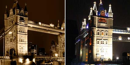 Chinesen kopieren Tower Bridge. Die Londoner Tower Bridge hat jetzt eine chinesische Schwester. (Quelle: Thinkstock by Getty-Images/HGM Press)