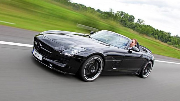 Mercedes SLS AMG Roadster von Väth: Supersportler mit 702 PS. Mercedes SLS AMG Roadster von Väth (Quelle: Auto-News)