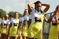 Wahre Hingucker am Hungaroring: die Grid Girls. (Quelle: xpb)