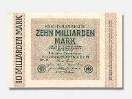 10-Milliarden-Mark-Reichsbanknote von 1923 (Quelle: LW/privat)