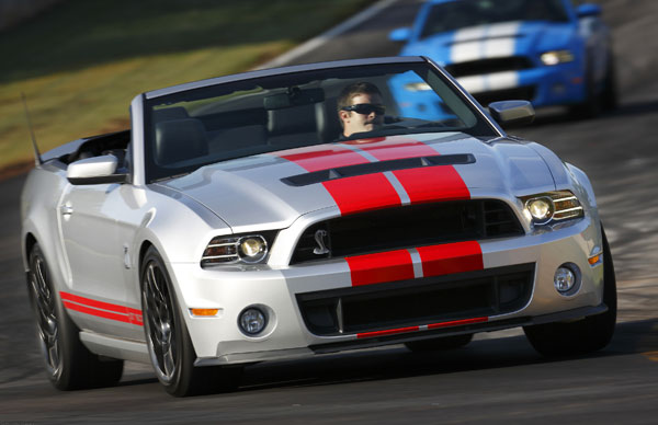 Ford Mustang Shelby GT 500 (Quelle: Hersteller)