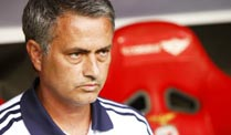 "Real-Trainer Jose Mourinho will ""The Only One"" heißen. Real-Trainer José Mourinho ist kein Kind von Traurigkeit.  (Quelle: imago)"