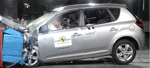 Crashtest  (Quelle: Euro-NCAP)