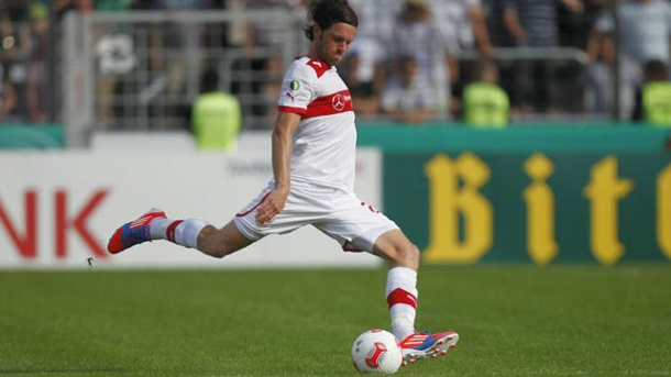 Europa League: Der VfB Stuttgart freut sich auf Wiedersehen mit Kevin Kuranyi. Tim Hoogland will mit dem VfB in die Gruppenphase der Europa League. (Quelle: imago)