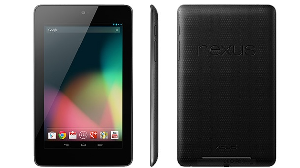 Google Nexus 7 2: Vorstellung wohl am 24. Juli. Google Nexus 7 Tablet (Quelle: Google)
