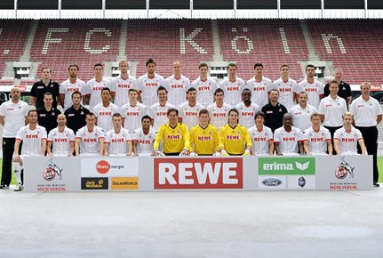 Mannschaftsfoto des 1. FC Kln der Saison 2012/2013. (Quelle: imago)