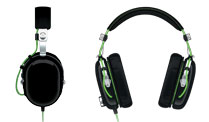 Razer: Gaming-Headset im Piloten-Look. Das neue Black Shark Stereo Gaming-Headset von Razer (Quelle: Razer)