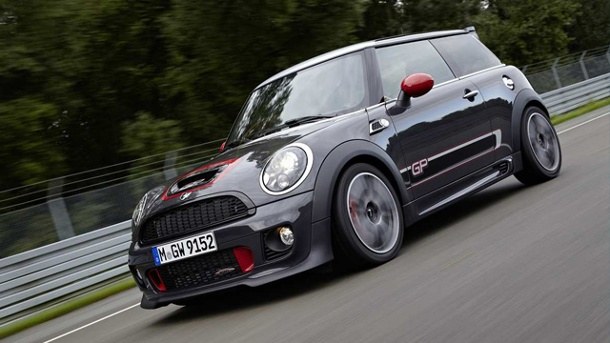 Mini John Cooper Works GP: Der neue Supersportler. Mini John Cooper Works GP: Der neue Supersportler mit 218 PS. (Quelle: Hersteller)