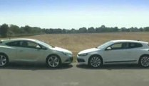 VW Scirocco vs. Opel Astra GTC (Screenshot: Car News)