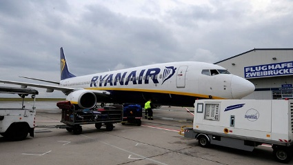 Ryanair-Maschine (Quelle: dapd)