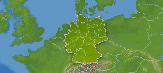 Deutschlandkarte