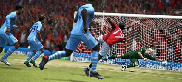 Fifa 13: Mehr als Million Vorbestellungen, iPhone-Version gestartet. Fifa 13 (Quelle: Electronic Arts)